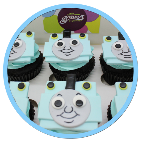 Thomas the Tank Engine Cupcakes
