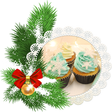 Christmas Gabbys Choice Cupcakes