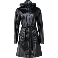 Jas Regen-Curve Jacket Shiny Black