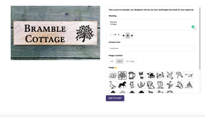 LAUNCH of NEW Bramble Signs Website