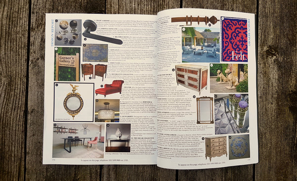 Bramble Signs In World Of Interior March Issue Design Report