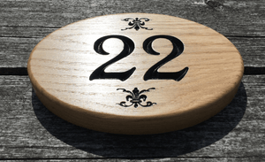 22 Hotel Number Sign For Public Locations or Private Businesses