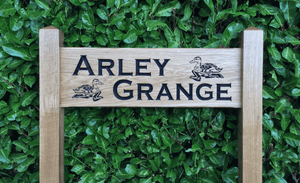 Arley Grange Inter-medium ladder signs