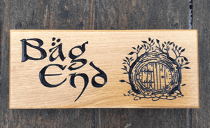 Big End 265 x 110 Mystical Door Lord Of The Rings