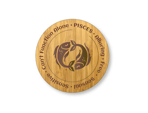 Pisces Star Sign Drinks Coasters