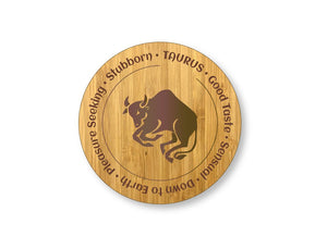 Taurus Star Sign Drinks Coasters