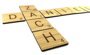 Scrabble Tiles For Families Or Bedrooms