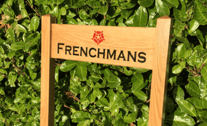 Frenchmans Inter-Medium ladder sign