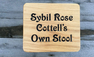 Sybill Rose Own Stool Childs Stool Elizabeth Font
