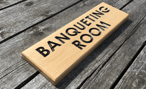 Hospitality Food Room, Banqueting Room, Conference Room Sign