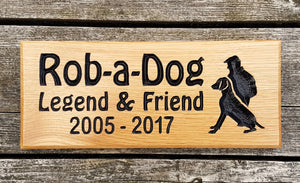 Memorial & Commemorative Plaques - Small - 265 x 110mm