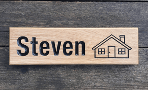 Steven House Sign 380x110 House Signs