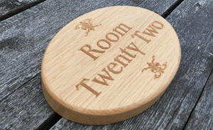 Room 22 Hospitalities Sign In An All Natural finish