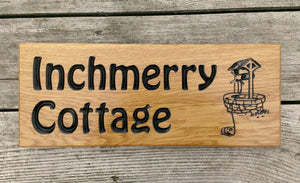 Inchmerry Cottage With Well Design FONT: HOBO