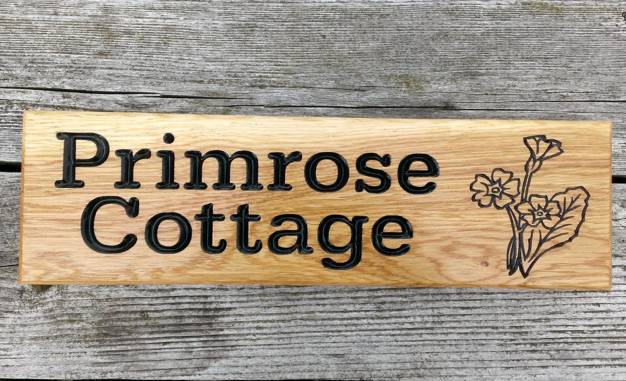 Terrific Personalised Wooden House Signs House Plaque House Name Download Free Architecture Designs Remcamadebymaigaardcom