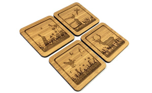 Wildlife Drinks Coasters Set
