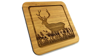 Deers habitat Drinks Coasters Design