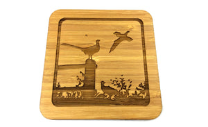 Pheasant  Drinks Coasters Design