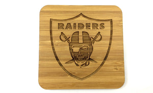 Solid Bamboo Drinks Coasters