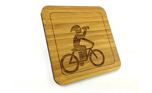 Cyclist Rehydrating Drinks coasters