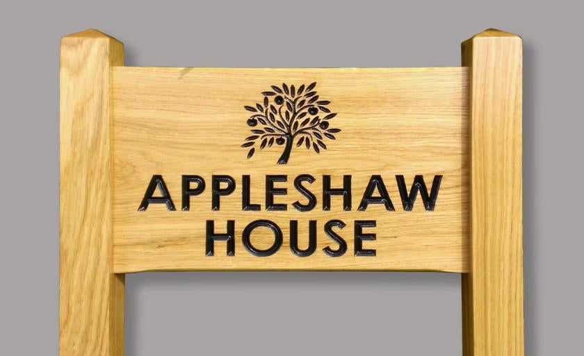 Free standing House Signs & Ladder Signs
