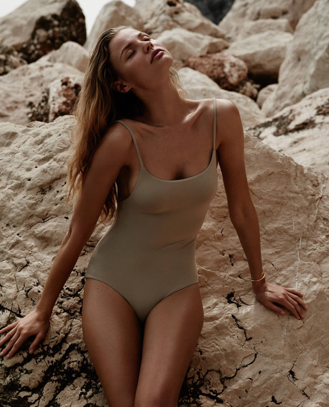 Magdalena Frackowiak Broochini Luna One piece swimsuit