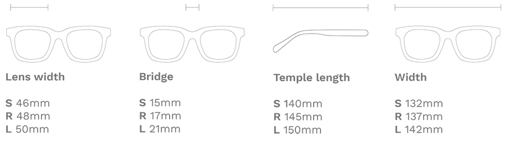 Dimensions Halley Hemp Eyewear