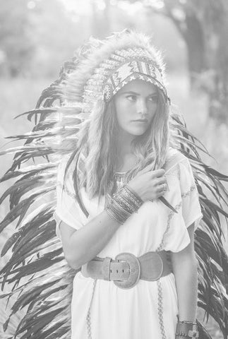 Ashley Siners Indian Headdress photo