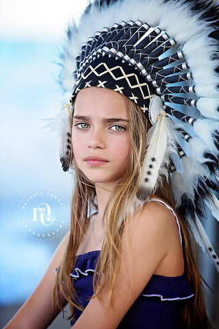Natalia Landau Kids Indian Headdress Photo Shoot 2