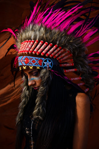 Scott Boden Native American photo shoot