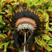 Kids Native American Headdress Replica - Orange