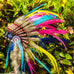Kids Indian Headdress Replica - Rainbow