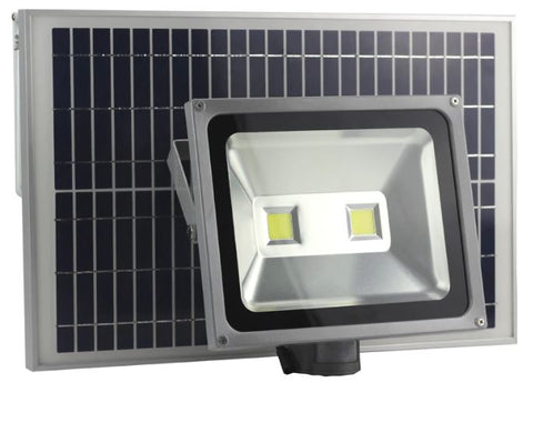 100W LED Solar Security Flood Light with PIR Sensor