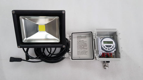 10W LED Solar Flood Light