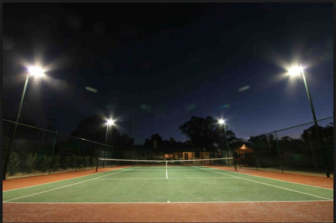 Tennis Court 200W LED Solar Flood Light