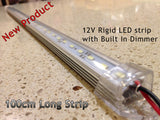 12V 100cm Long 8520 LED strip with Built in Dimmer