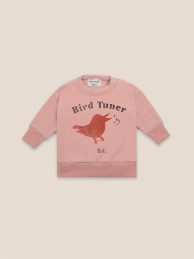 Bird Tuner Terry Towel Sweatshirt by Bobo Choses