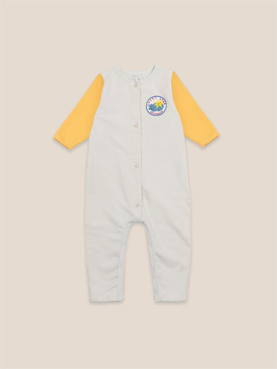 Lucky Star Patch Fleece Overall by Bobo Choses