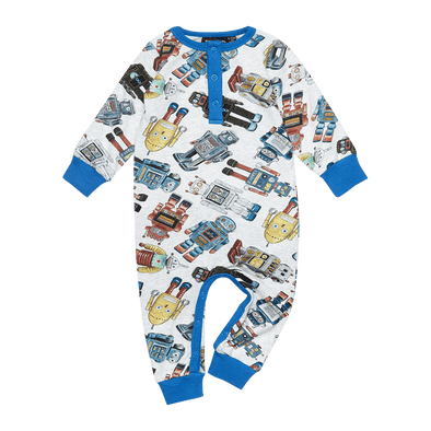 ROBOTIC - LS PLAYSUIT by Rock Your Baby