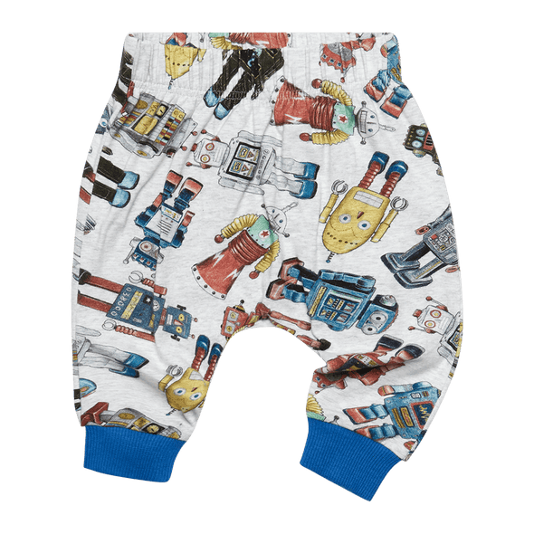 ROBOTIC - BABY TRACKPANTS by Rock Your Baby