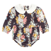 MIDNIGHT CHINTZ - LS ROMPER, FLORAL
