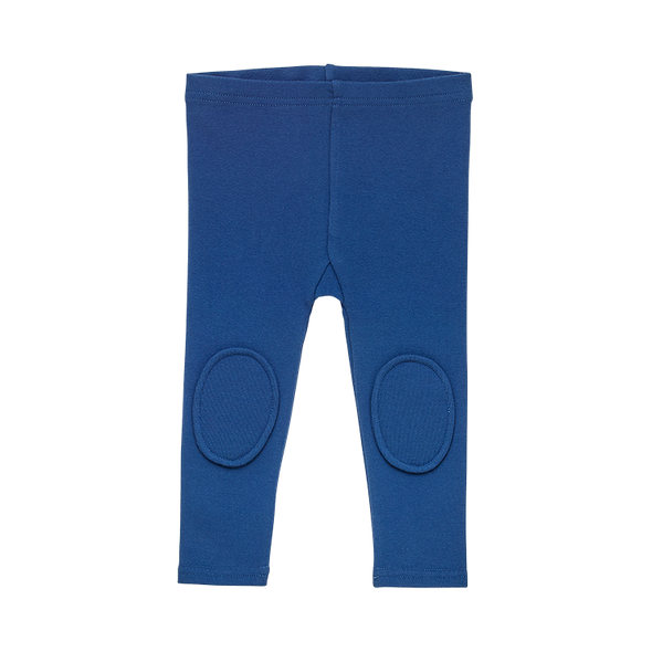 NAVY - BABY KNEE PATCH TIGHTS by Rock Your Baby