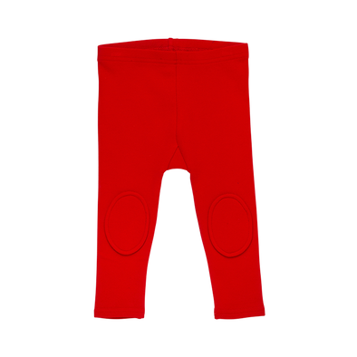 RED - BABY KNEE PATCH TIGHTS, RED