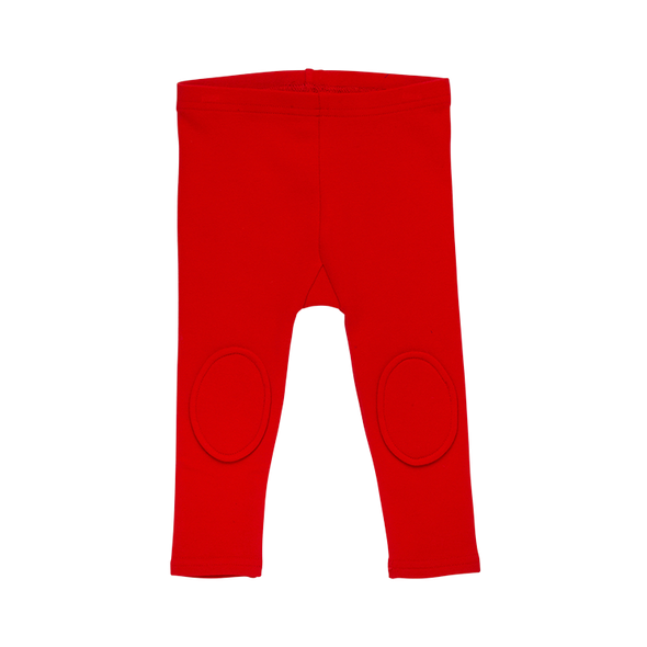 RED - BABY KNEE PATCH TIGHTS by Rock Your Baby