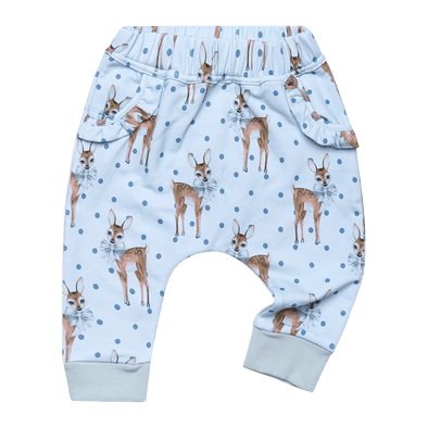 DEER HEART - BABY TRACKPANTS, BLUE