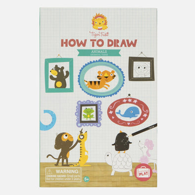 How to draw - Animals by Tiger Tribe