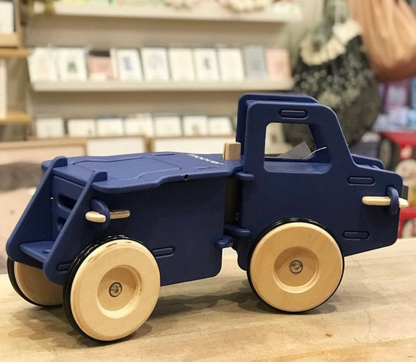 Navy Blue Ride-On Truck by Moover