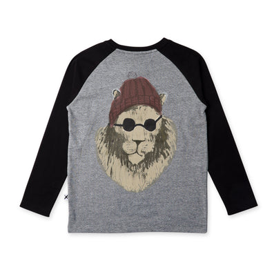 Cool Cat Raglan Tee by Minti