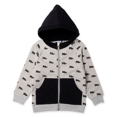 Cool Rad Awesome Furry Zip Up by Minti
