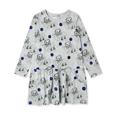 Swimming Otters Dress by Minti